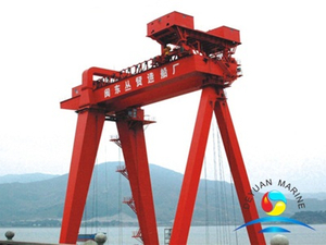 Double Girder Gantry Crane Frame Crane For Shipbuilding