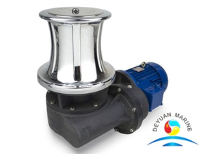 Yacht Small Electric Stainless Steel Marine Capstan