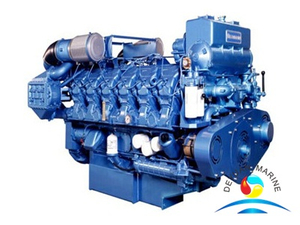 Weichai M26 Series Marine Diesel Engine For Boat With CCS