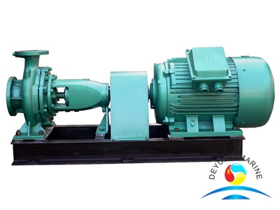 Marine Electric Horizontal Centrifugal Water Oil Pump CIS Series