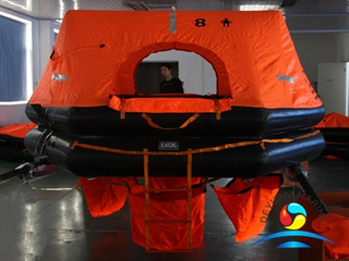 HSR-Y Type 8 Person Throw-overboard Inflatable Life Raft