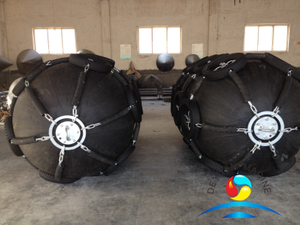 Floating Pneumatic Rubber Fenders With Tyres