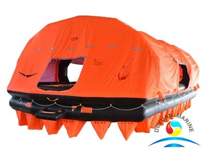 Throw-over Self-Righting Inflatable Liferaft