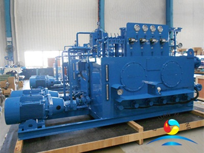 CCS Approved 450KW Hydraulic Pump Station For Marine Windlass