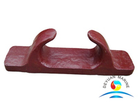 Boat Deck Cast Steel Galvanized Open Type Roller Chocks