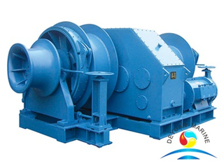 Marine Electric Hydraulic Mooring Winch With Single Drum