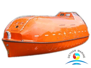 Marine Totally Enclosed F.R.P Tender Lifeboat With CCS Certificate