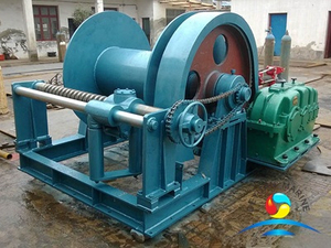Marine Electric Winches With Automatic Spooling Device For Engineering