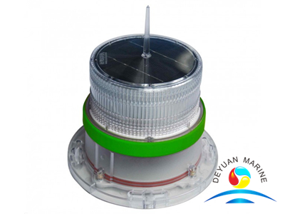 Solar Powered LED Navigation Lantern for Small Boat