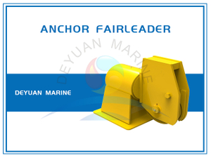A40 Deck Mounted Single Sheave Swivel Head Anchor Fairlead