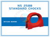 Deck Mounted Chock NS2588 Mooring Chock for Ships