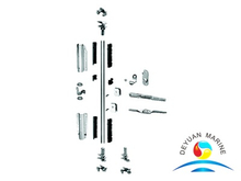 Three Anti-theft Points Door Locking System For Reefer Container