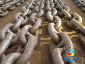 HDG Stud Link Anchor Chain ISO1704 Standard High Strength Anchor Chain with Certificate