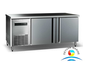 Marine Stainless Steel Worktable Refrigerator
