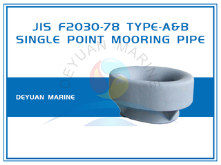 Bulwark Mounted JIS F2030-78 Single Point Mooring Pipe for SPM