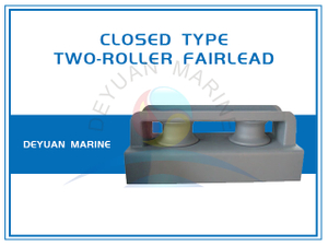 JIS F2014 Fairlead Roller In Group Closed Roller Type