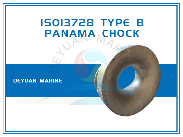 ISO13728 Panama Chock Bulwark Mounted Type B for Ships
