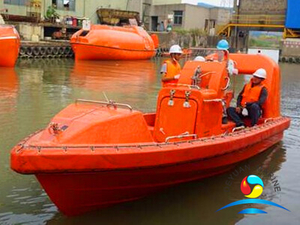 6 Man SOLAS Approved Rescue Boats With A Type Davit Or Single Arm Davit