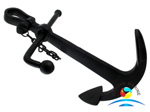 JIS Standard Marine Boat Cast Steel Stock Anchor with Good Price