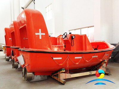 Open Type Sea Rescue Boats For Training With Diesel Engine