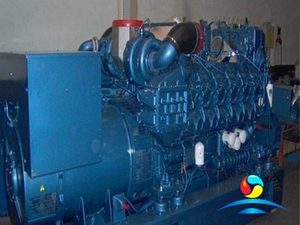 12M26 Series 500KW Weichai Marine Dual Fuel Engine