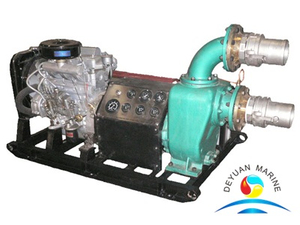 Diesel Engine Driven Emergency Fire Fighting Water Pump For Boat