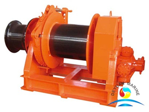 One Drum Type Hydraulic Small Mooring Winch for Boat