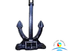 BV Approved Cast Carbon Steel CB711-95M Marine Boat Speck Anchor