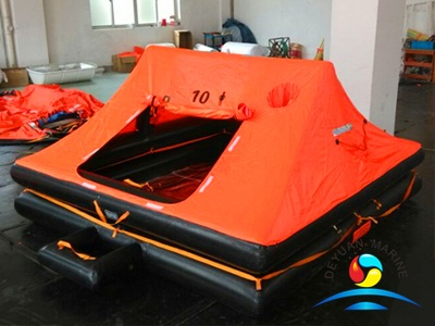 YT Type 10 Person Throw Over Board Yacht Inflatable Life Raft
