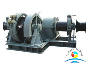 Marine Electric Combined Anchor Windlass And Mooring Winch