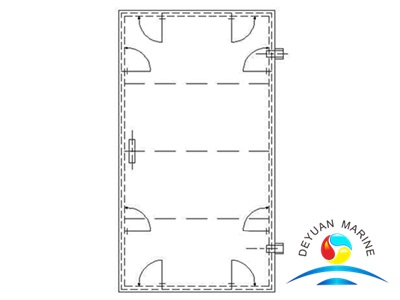 AF Type Marine Single-leaf Steel Weathertight Door