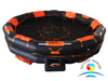 High Quality GL Approved Marine AOR-30 Open Reversible Inflatable Liferaft