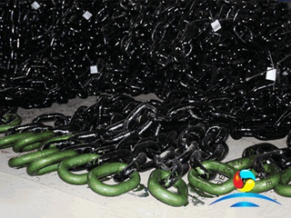 Hot Dipped Galvanizing U3 Stud Link Mooring Buoy Anchor Chain