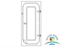 FA Type Marine Single-leaf Steel Weathertight Door