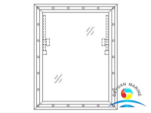 Model 220 Aluminum Rectangular Window