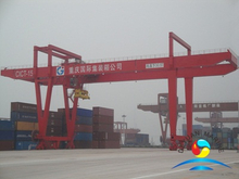 Electric Rail-Mounted Gantry Container loading and unloading Crane