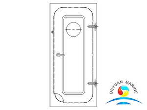 Marine Ship Steel Type No-watertight door for accommodation