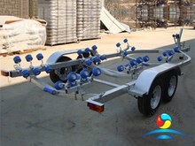 Double Axle Yacht Trailer Use For Marine Yatch Boat