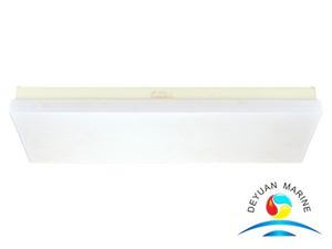 JPY15-2 Series Fluorescent Ceiling Light with Organic Lampshade