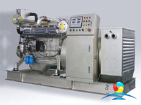 CCS Approval 50-150KVA DEUTZ Marine Generator Set For Boat
