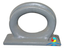 Marine Cast Iron Deck Mounted Mooring Chock CB34-76 C Type