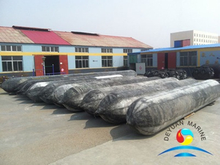 Heavy Fast Inflatable Marine Natural Rubber Airbag For Ship Launching