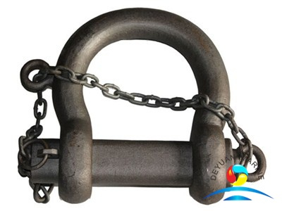 Marine Cast Steel Self Color Grade 2 B Type Buoy Shackle