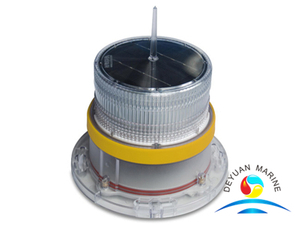 Yellow Solar Marine Navigation Light