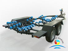 Good Price SOLAS Approved Marine Cast Steel Fishing Boat Trailer