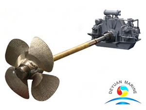 Marine Diesel Engine Drive Controllable Pitch Propeller For Vessel