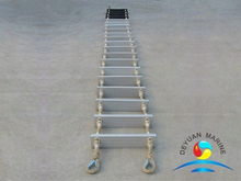 CCS Approval Marine Embarkation Rope Ladder With Aluminum Step