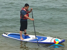 Good Price 11' Water Entertainment Inflatable Stand Up Paddle Board