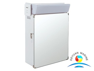 CBD17-G Mirror Light in Washroom With Switch And Socket Include Small Cabinet