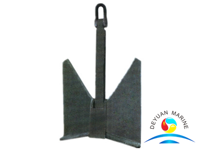 TW Type Anchor or High Holding Power Stockless Pool Anchor
